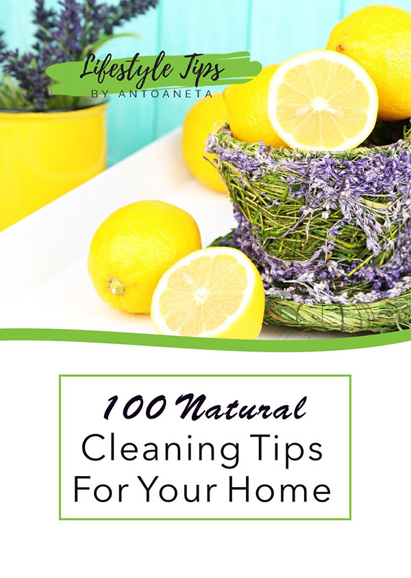 100 Natural Cleaning Tips For Your Home Ebook